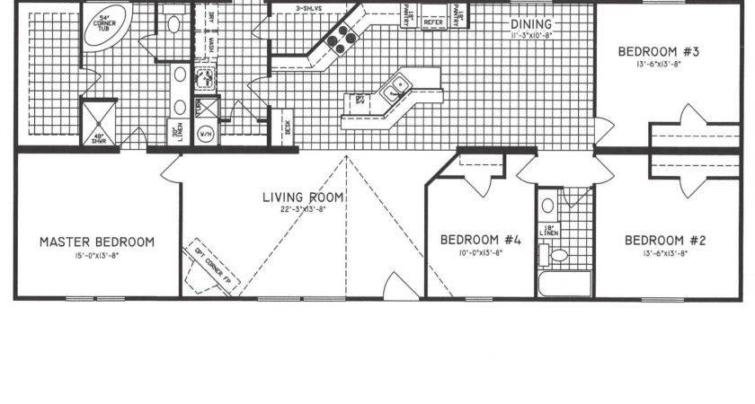 Fleetwood Mobile Home Floor Plans Inspirational