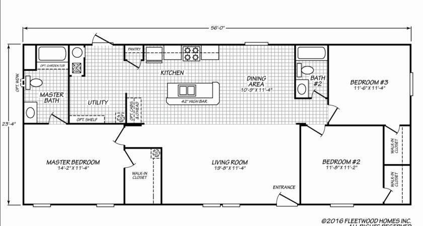 Fleetwood Mobile Homes Floor Plans Lovely
