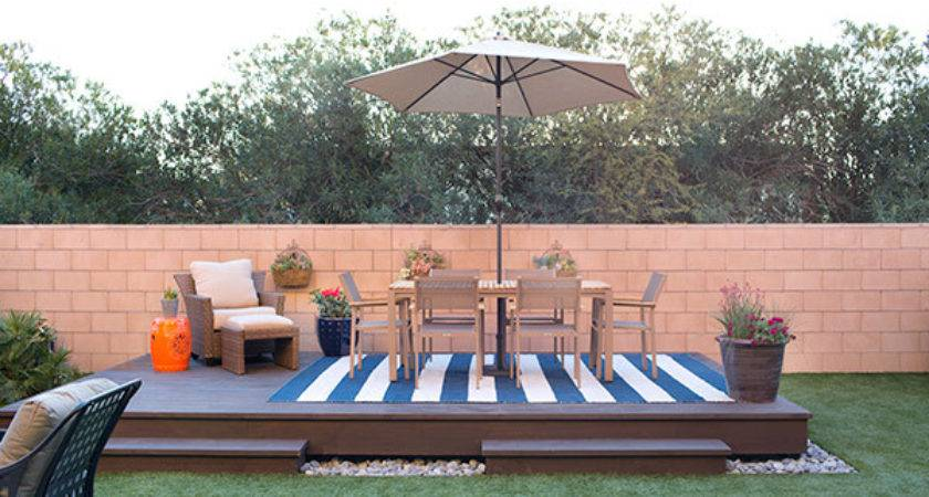 Floating Deck Plans Add Visual Appeal Your Backyard