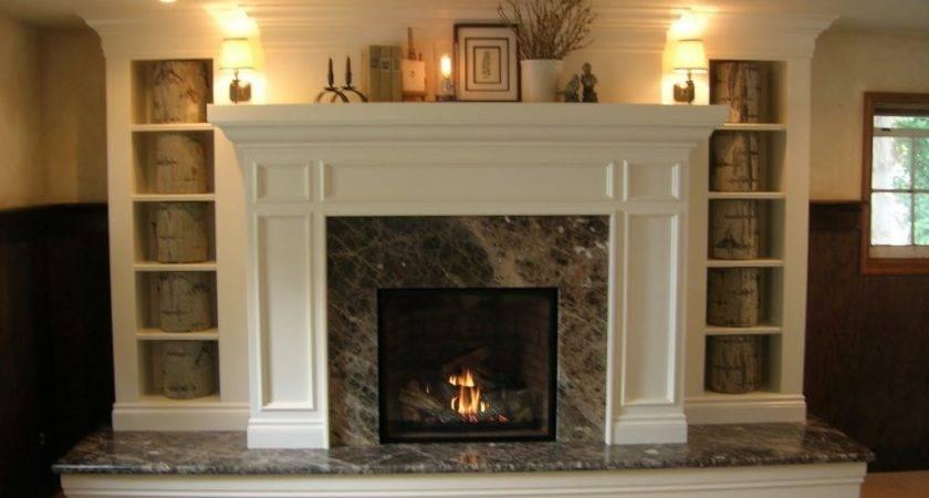 Floor Ceiling Brick Fireplace Makeover Gurus