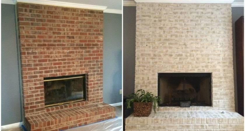 Floor Ceiling Fireplace Makeover Blog Avie