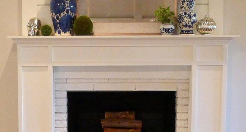 Floor Ceiling Stone Fireplace Makeover Theteenline