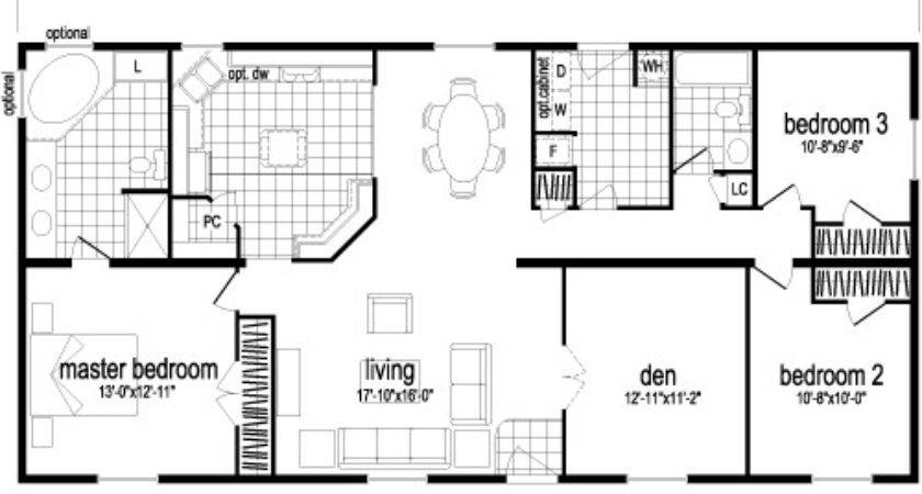 Floor Double Wide Mobile Home Plans Planning Bestofhouse