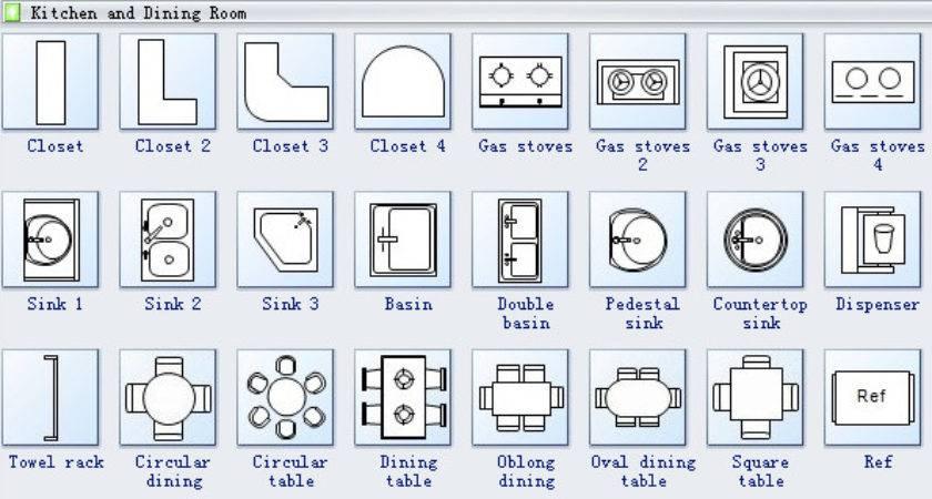 Floor Plan Symbols Powerpoint Youtube Furniture Linear