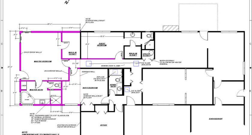 Floor Plans Additions House Wood Floors