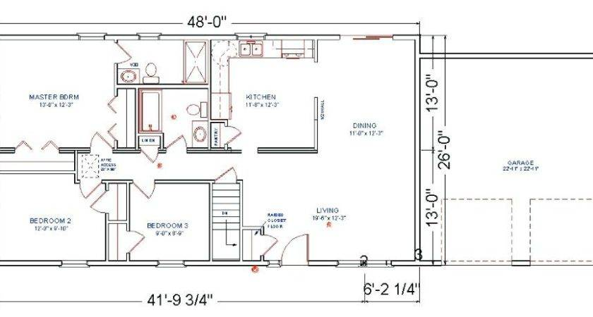 Floor Plans Additions Modular Ranch House Second