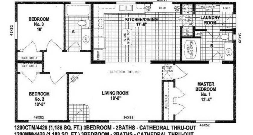 Floor Plans Double Wide Manufactured Homes