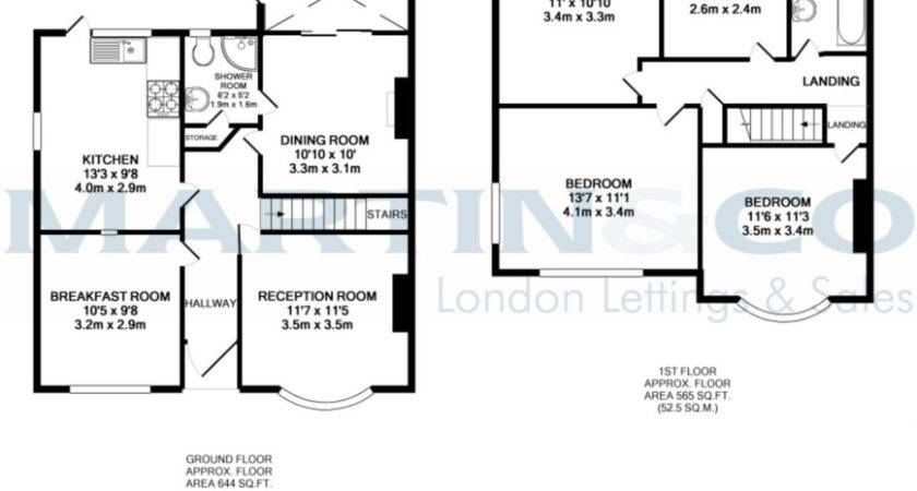 Floor Plans Extension Semi Detached House Thefloors