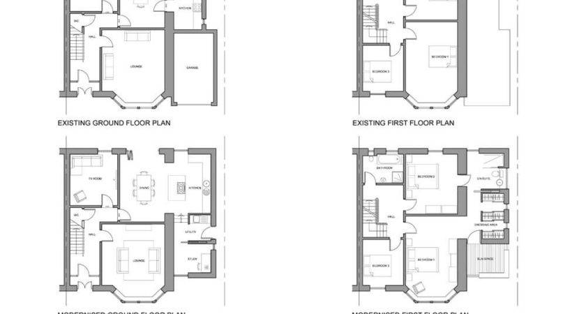 Floor Plans House Extension Home Decor Takcop