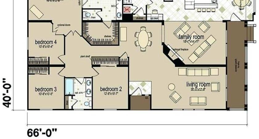 Floor Plans Manufactured Homes Bedroom Modular