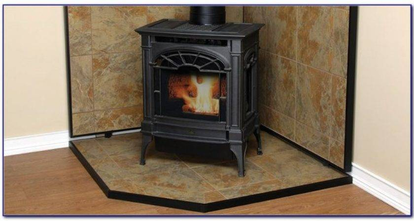 Floor Protection Wood Stove Flooring Home Design