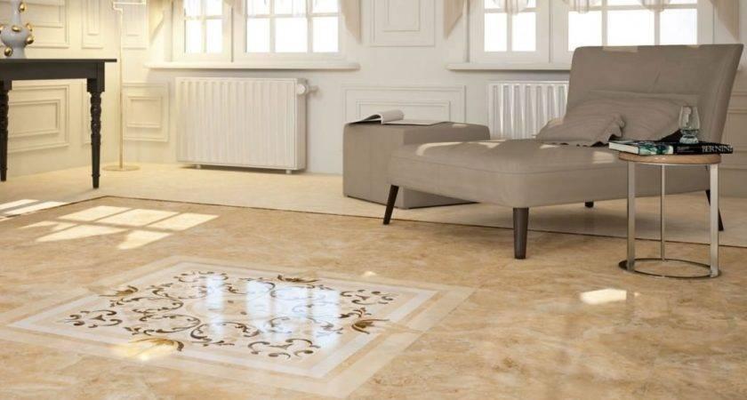 Floor Tile Designs Living Rooms Well