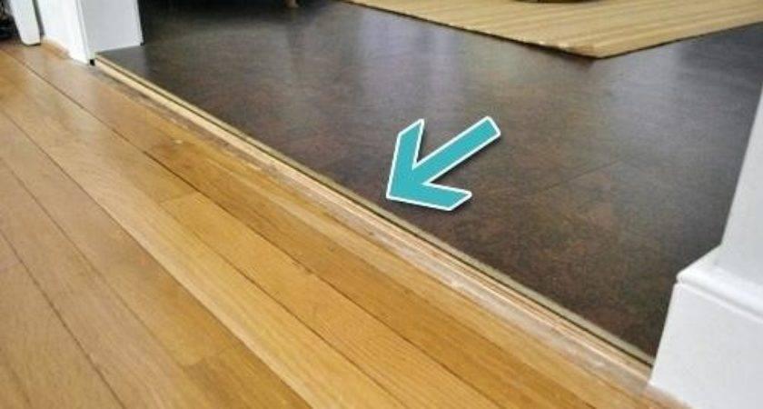 Floor Transitions Uneven Floors Installing