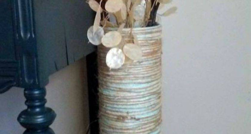 Floor Vase Diy Oatmeal Container Good Deal Mama