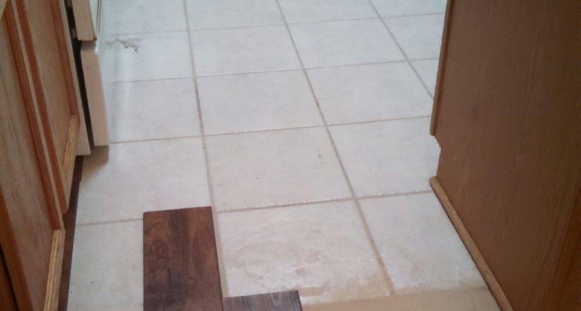 Flooring Over Tile Kitchen Morespoons Cec