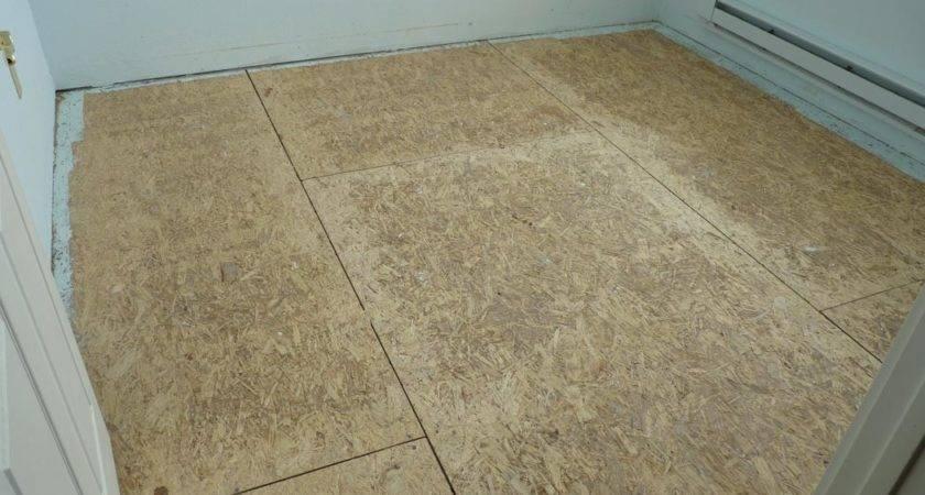 Flooring Subfloor Preparing