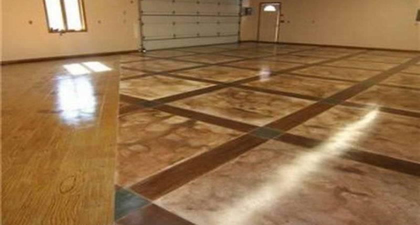 Flooring Types Garage Floor Options Inspiration Home