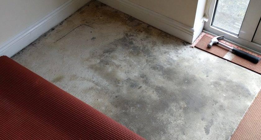 Flooring Underlay Top Concrete Subfloor Laminate