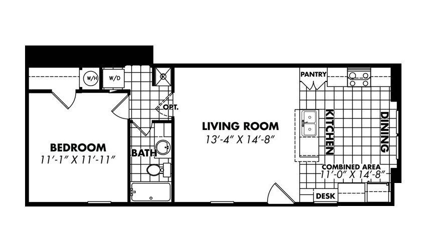 Floorplan Bedroom Single Wide Manufactured Home
