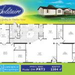 Floorplans Double Wide Manufactured Homes Solitaire