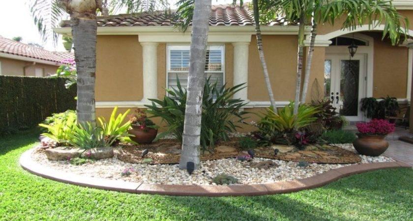 Florida Front Yard Landscaping Ideas Solidaria