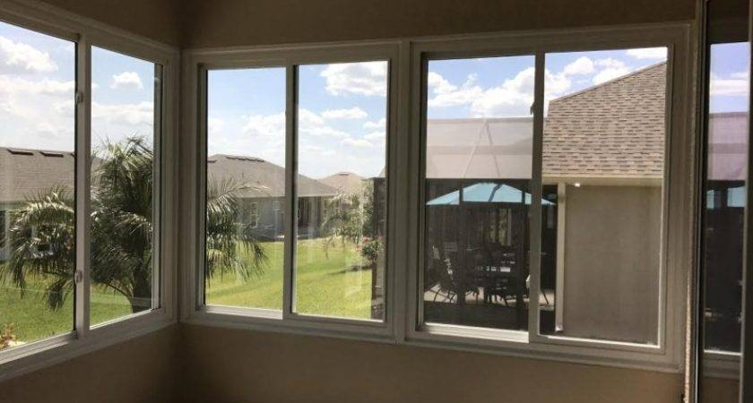 Florida Room Vinyl Film Windows Pin