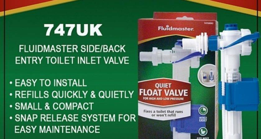 Fluidmaster Toilet Cistern Side Back Inlet