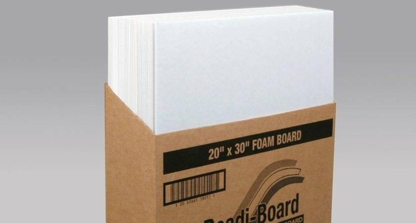 Foam Core Board Sizes Working Foamboard Joining