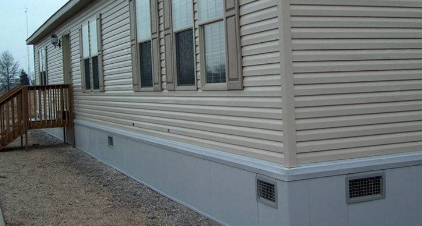 Foam Skirting Mobile Homes
