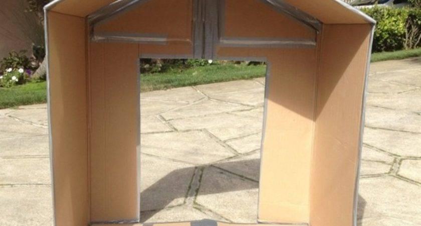 Folding Cardboard Play House Jewels Home