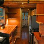 Foot Trailer House Two Lofts Made Texas