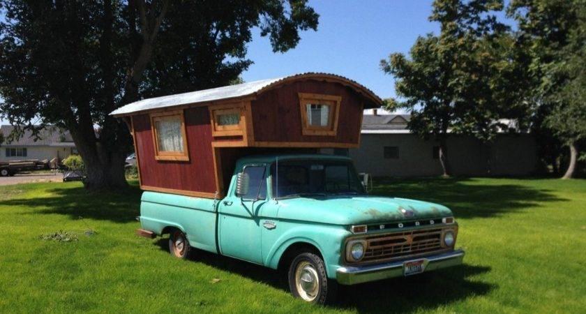 Ford Gypsy Camper House Truck