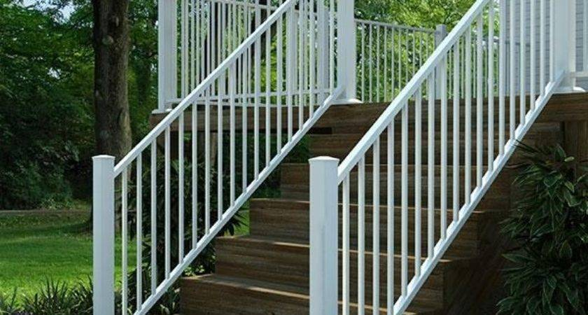 Fortress Aluminum Deck Railing Stairs Gloss