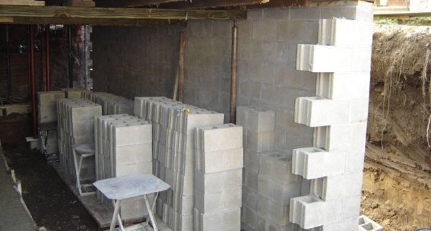 Foundation Contractors Basement Construction