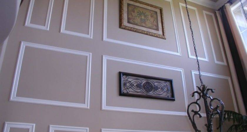 Frame Moulding Wall Crown Molding Idea