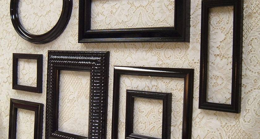 Frames Black Frame Set Wall Collection Mid