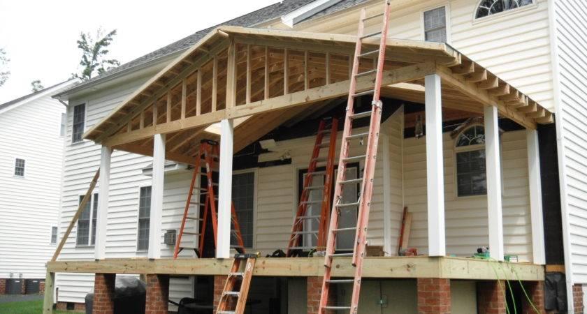 Framing Deck Roof Design Ideas