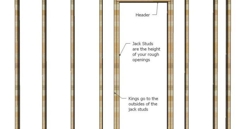 Framing Walls Basement Wall Framed