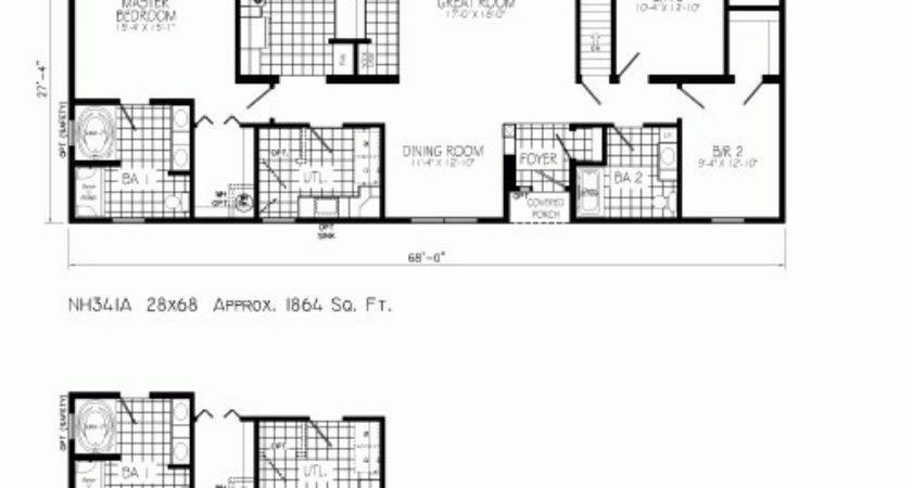 Freehaven Mannorwood Homes Ranch Floorplan