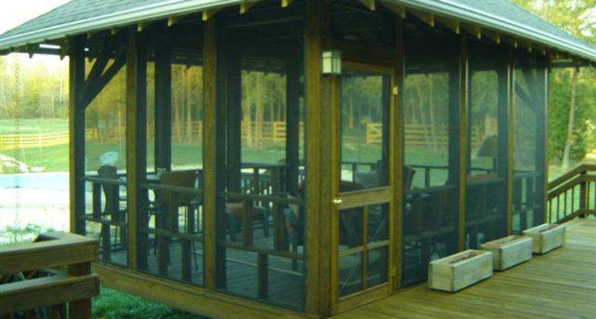 Freestanding Screened Porch Greensboro