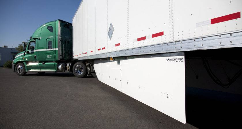 Freight Wing Launches Next Generation Aeroflex Side Skirts