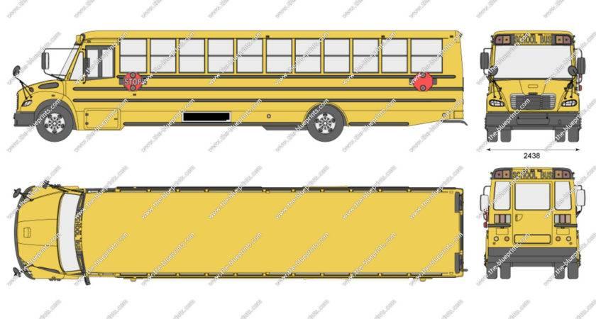 Freightliner Thomas Saf Liner School Bus