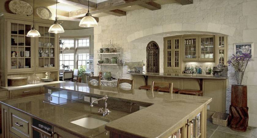 French Country Gourmet Kitchen Home Decor Interior