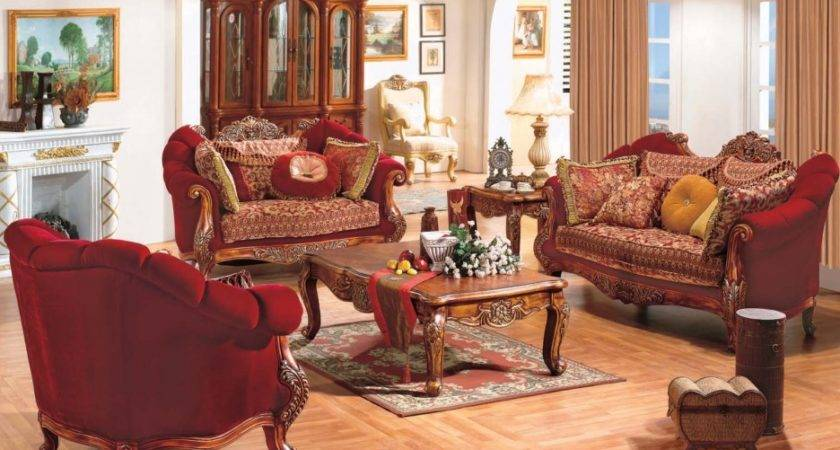 French Country Living Room Furniture Decor Paint