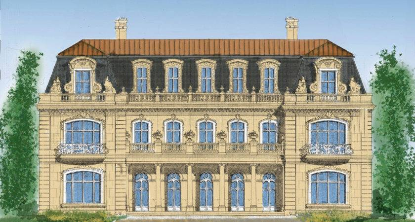 French Style Architect Home Designs Mansions Castles
