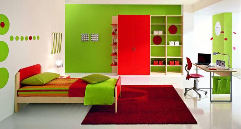 Fresh Green Boys Bedroom Ideas Red Rug Interior