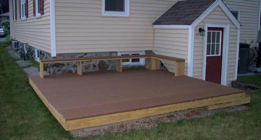 Fresh Platform Deck Building Plans
