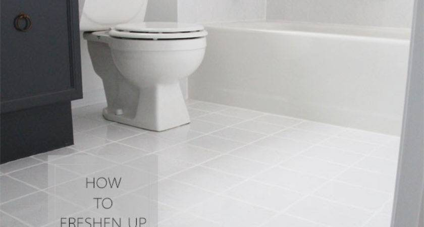 Freshen Your Grout Lines Less Pink