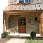 Front Back Porch Timberframing Methods
