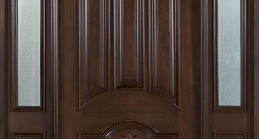 Front Door Custom Single Sidelites Solid Wood